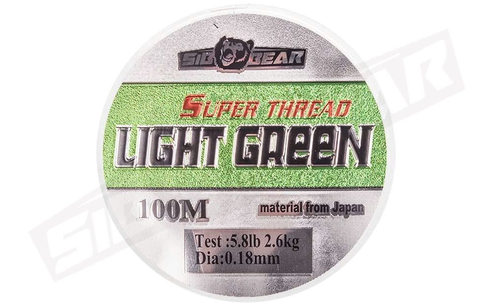Леска SibBear Super Thread Light Green